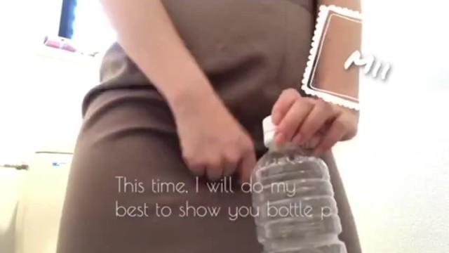 【ペットボトルにおしっこを..再挑戦】おしがま 放尿 トイレ 12