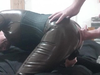 Latex and wand pleasing...