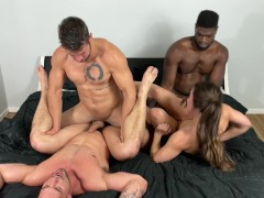 College Damsel Gang-fucked At Frat House