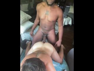 Jock ass raw hard stretching his hole leaving...