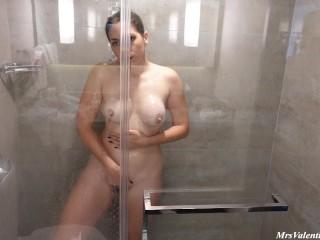 Hot Shower Sex, Passionate Fucking Big Ass Water Running
