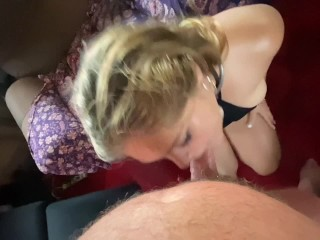 Curvy Teen gives great Deepthroat gets Fisted and Squirts All Over Original MILF Hunter on Boat