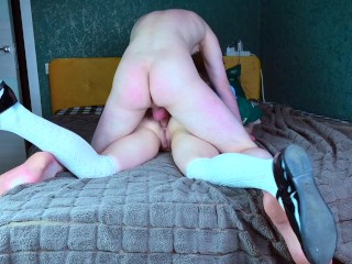 White Rabbit fucks petite Alice's holes and cums on her belly – Cosplay Wonderland Spooky Boogie