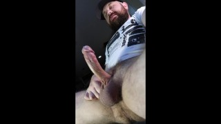 Horny Bear keeps cumming