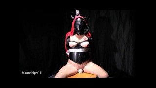 She said don't stop on the bondage chair. Ends with a hard fuck -- MoonKnight74