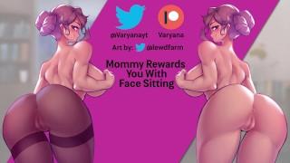 Rewarded With Step Mommy's Asscheeks [Facesitting]