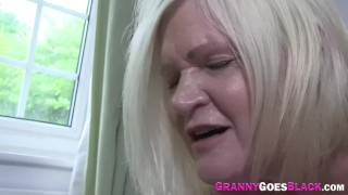 Granny Sucks Black