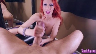 Dick Milking Wife Shanda Fay Face Fucked By Her Lucky Hubby!