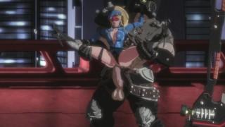 Busty Cop Sexy Latex Bodysuit Uniform Likes Big Monster Boss Cock - Pure Onyx [eromancer]
