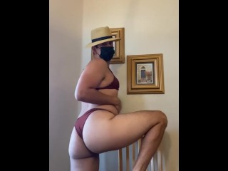 Masturbates bikini...