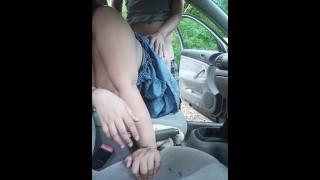 Stranger fuck my pregnant wife in car
