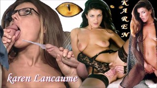 Karen Lancaume FINISH BLOWJOB CUMPILATION French Vintage ASS FUCK let her finish handjob cumshot HD