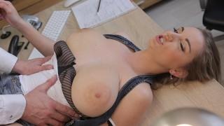 LOAN4K Kinky girlfriend cheats in order to get a loan from the back