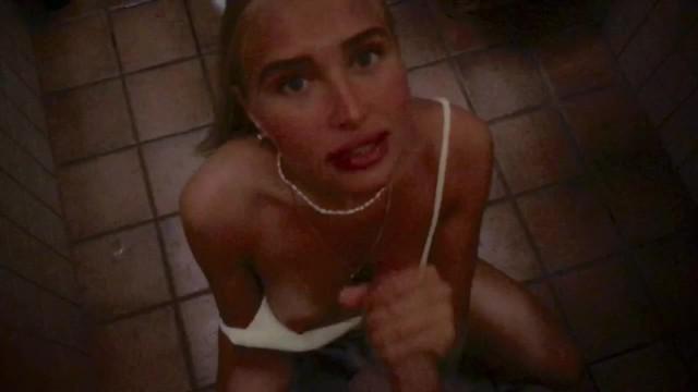 Babe;Blonde;Blowjob;Cumshot;Handjob;Public;Reality;Exclusive;Verified Amateurs public-restroom, pov-blowjob, amateur-blowjob, best-blowjob-ever, beautiful-girl, big-eyes, cum-on-face, cum-in-mouth