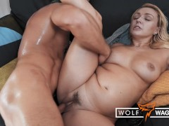 BRITISH AMBER DEAN: HARDCORE Fuck On First Date With Dumb Blonde Barbie! WolfWagnerCom