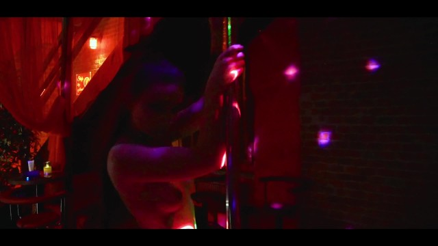 Petite erotic stripper pole dances and shakes ass - Lilly Red Chilli 41