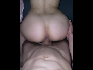 POV Backshots From A Big Cock!