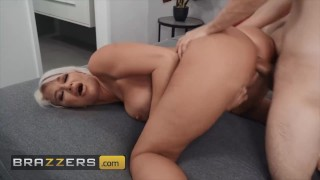Brazzers - London River Fucks The N.A.R.B Out Of Her Stepson Ricky Spanish & He Jizzes On Her Tits