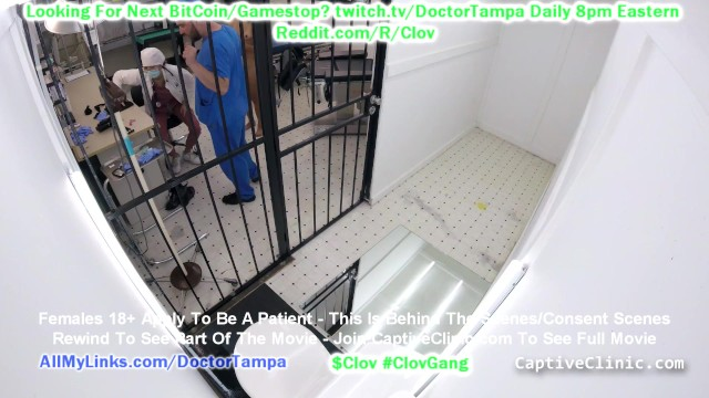 $CLOV Channy Crossfire Gets Strip Search, Gyno Exam By Nurse Nyx As The Nurse Says Welcome To Rikers 2