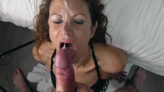 BJ is rewarded for her nastiness with a huge facial