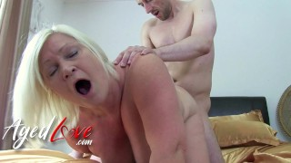 AgedLovE Blonde British Mature Lacey Starr Got Laid By Horny Guy
