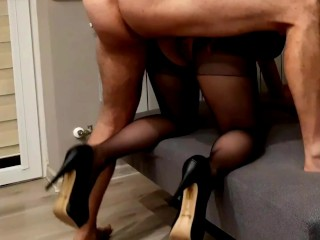 Fast sex befour work with secretary