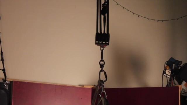 Curvy Bondage Rope Suspension Scene with Courtney Trouble 20
