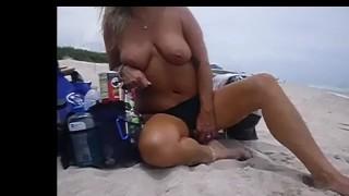 Hard Nipples Public