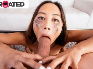 Giving rough blowjobs throated...