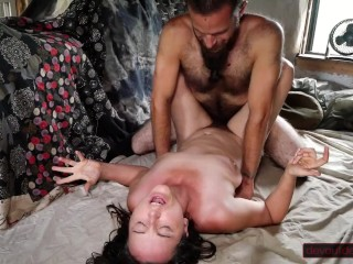 First time fucking with in gives intense multiple...