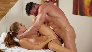 Not a normal massage, Mary Rock and Maximo Garcia