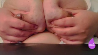 """""""BE A GOOD BABY AND DRINK MOMMY'S MILK"""" ASMR MOANING BBW LACTATING TITS"""