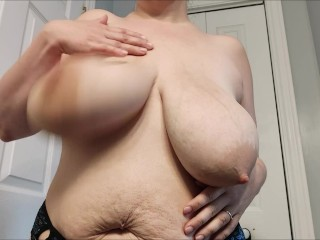 With giant areolas...