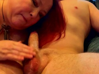 Just another Sunday Blowjob Experience Part 2 – Wife Gives Me a Sensual Blowjob and I LOVE it!