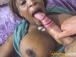 Big titty loves huge cock...