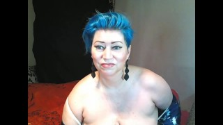 Magic Breath of mature cunt: deep gaping show, squirt & pissing...