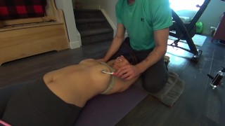 The Hot Personal Trainer is VERY Ticklish! (Ruthless Erotic Tickling!) 1080p HD PREVIEW