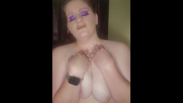 BBW titty torture for being a naughty slut see more on OF Kate_did_that 39