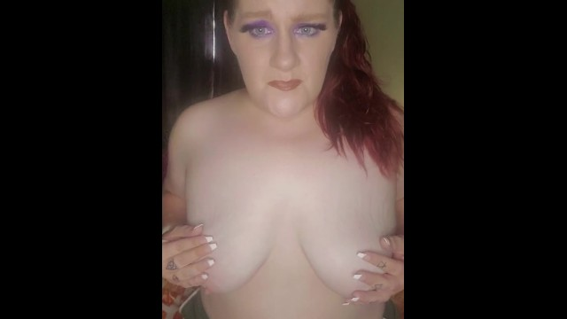 BBW titty torture for being a naughty slut see more on OF Kate_did_that 13