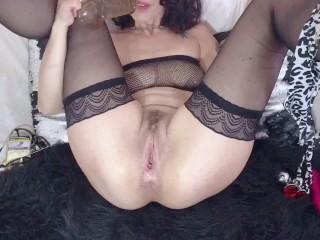 Masturba con dildo webcam moana...