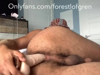 Beefy hole fucked with dildo vol 2...