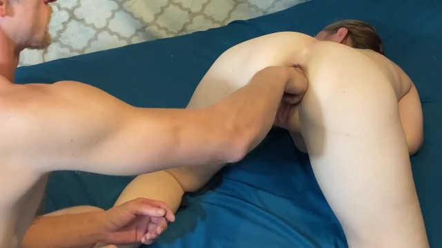 Sexy bitch takes loves my fist 34