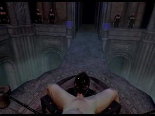 Citor3 Femdomination 2 3D VR game walkthrough 5: Collar Ceremony | blowjob femdom, latex, big tits