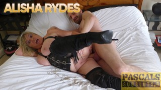 PASCALSSUBSLUTS - Blonde MILF Alisha Rydes Fucked Hardcore