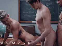 Icon Male - Jack Hunter Goes To The Room & Sees Andy Taylor Sucking His Teacher's Chris Damned Dick