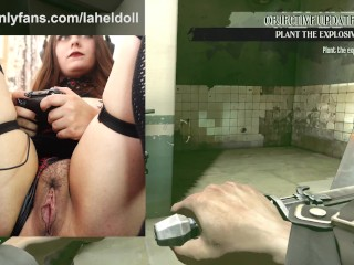 Big titty goth girl plays games nude dishonored...