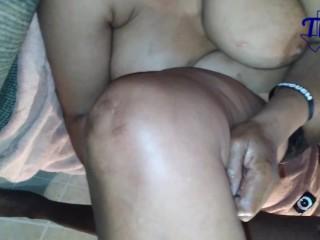 Texas african grandma giant bubble booty creamy fucking...