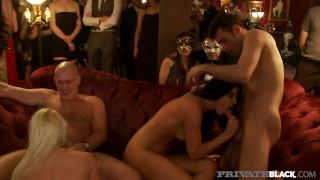 Private Black - Voyeur Sex Party Turns Into Hardcore Orgy!