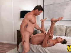 Sean Cody - Jax Has Been Cooped Up Alone With His Hand And Can't Wait To Fuck Nikolai
