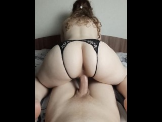 Sweet cock want to cum in her but...